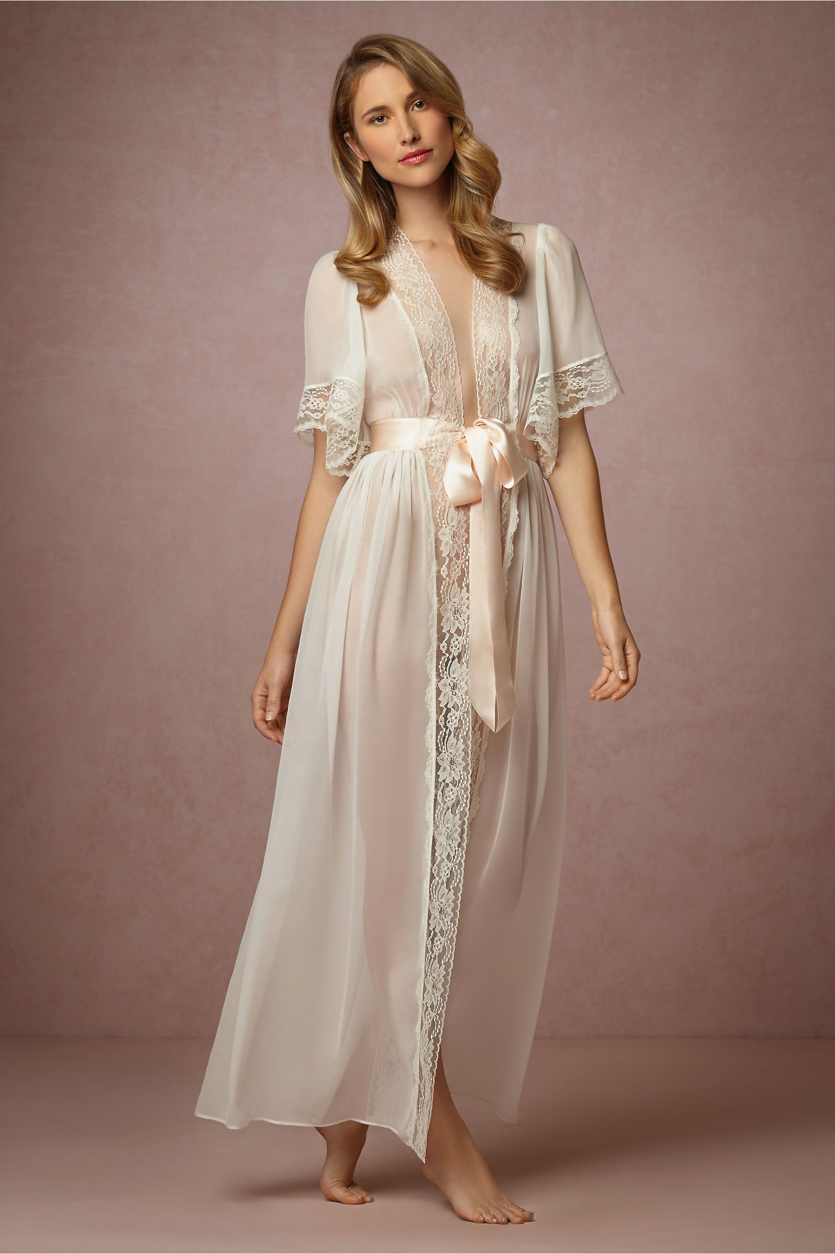 6a1c1615ccc Starlet Robe in Lingerie Chemises   Robes at BHLDN For the Bride to ...