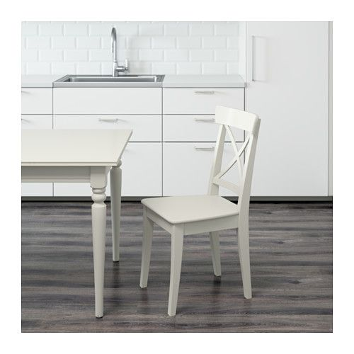 Ingolf Chair White Ikea In 2020 Chair Ikea Home Kitchens