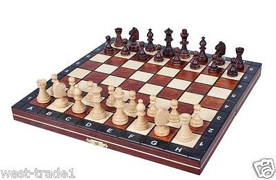 #brand new #♞hand crafted magnetic #wooden chess set ♚ ,  View more on the LINK: 	http://www.zeppy.io/product/gb/2/321418842746/