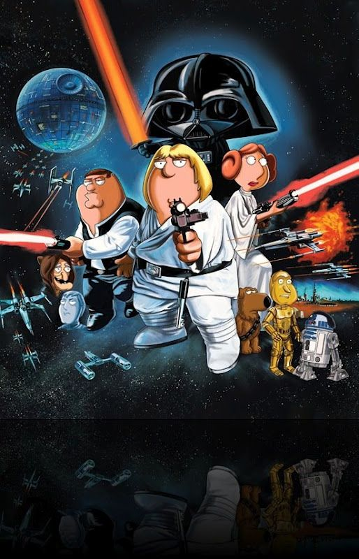 Cool Star Wars Photos Blue Harvest Family Guy Star Wars Badassery