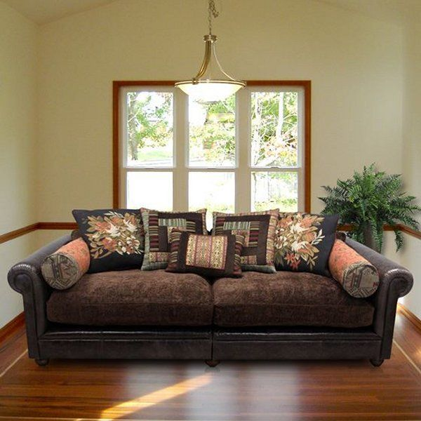 Latest Tetrad Mixed Leather Fabric Sofas Eastwood Degas Churchill With Mixing  Leather And Fabric Furniture