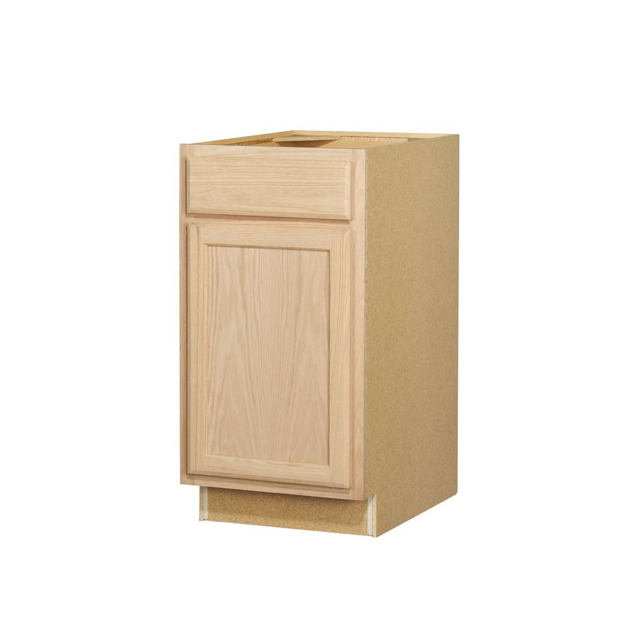 Kitchen Classics 18 In W X 35 In H X 23 75 In D Unfinished Door And Drawer Base Cabinet Unfinished Cabinets Unfinished Kitchen Cabinets Base Cabinets