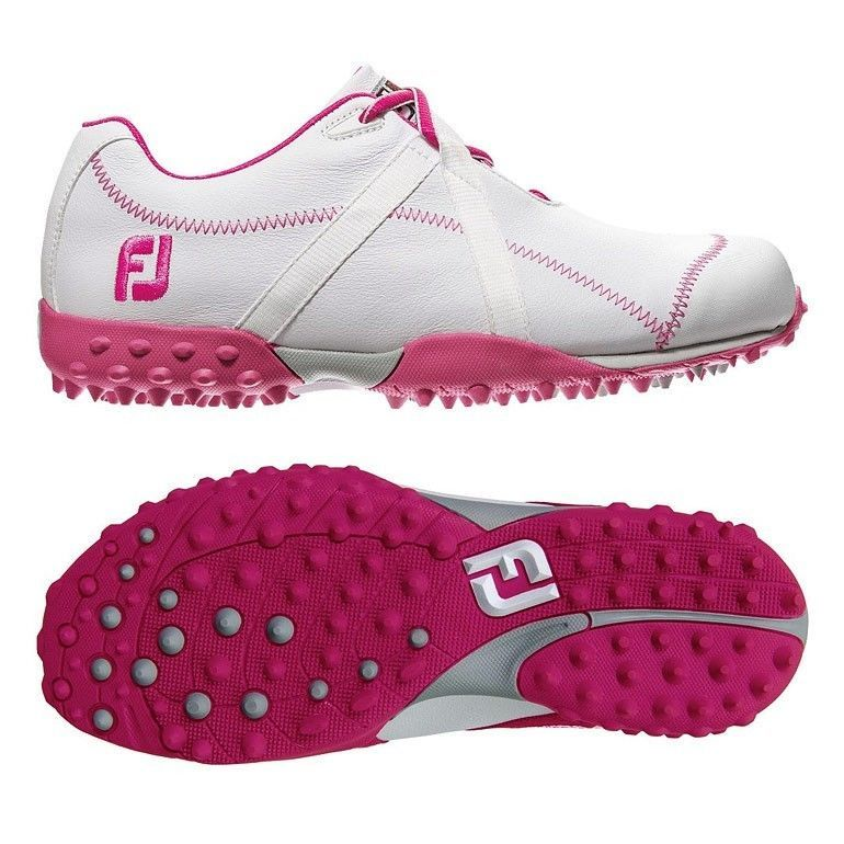 Golf Shoes  New Footjoy Womens M Project WhiteFuschia