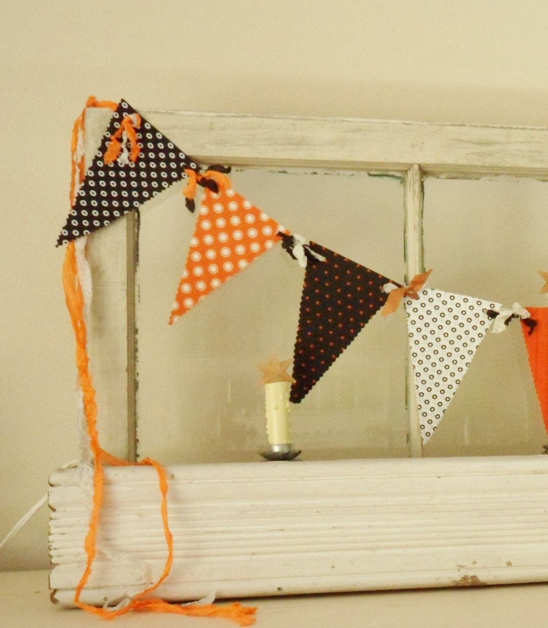 Halloween Garland- Fabric Banner