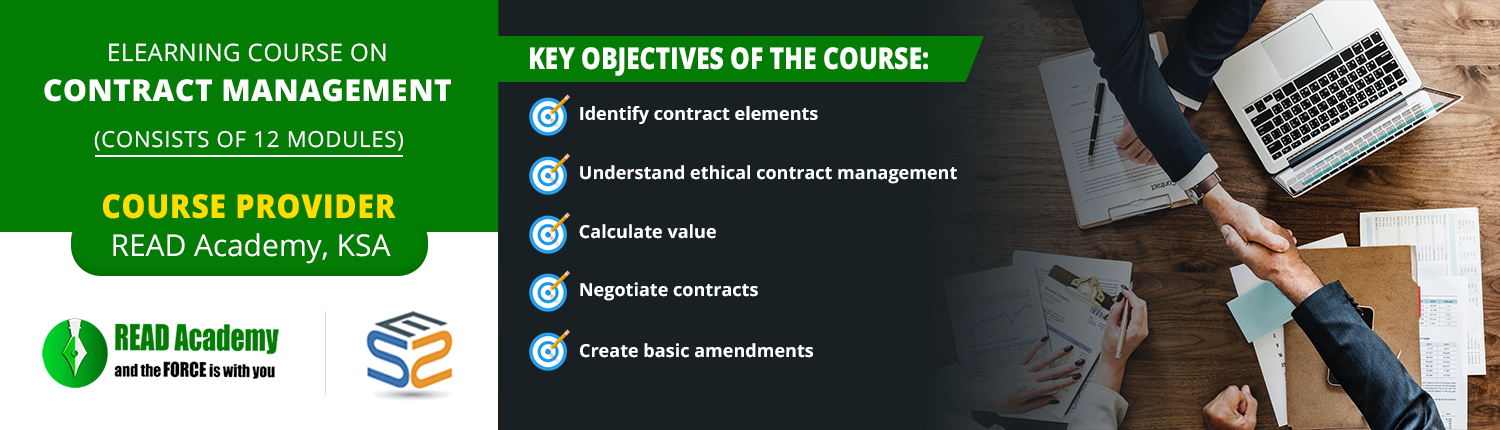 Contract Management Online Training Certification Course
