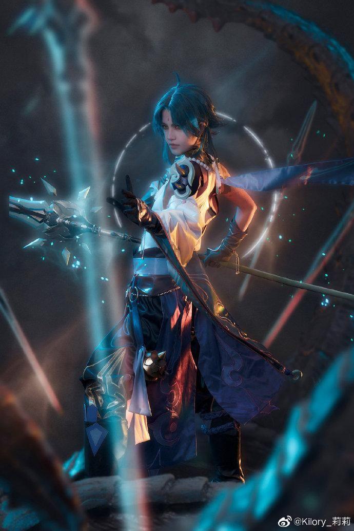 Photo of Genshin Impact xiao cosplay