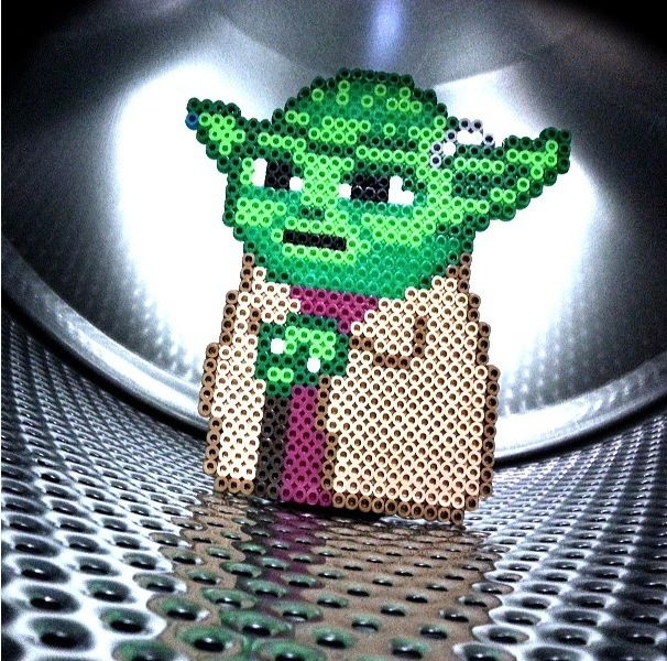 Star Wars Yoda hama perler beads   Beads   Pinterest   Jodido ...