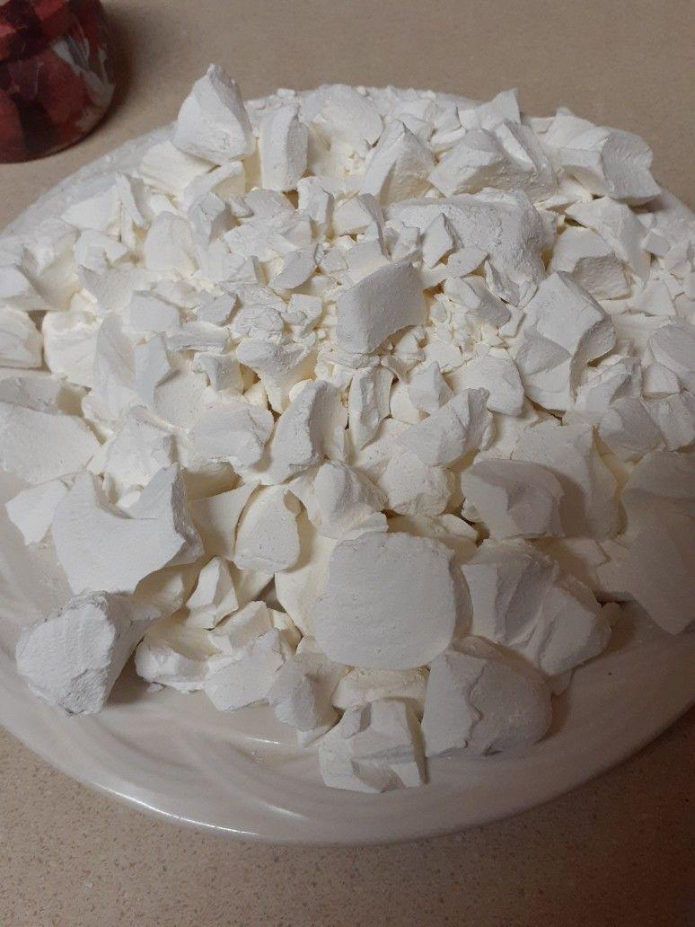 Cornstarch Chunks Edible Clay Corn Starch Food