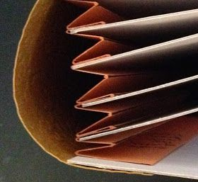 annes papercreations: How to make hinges, spines and binding for mini albums and journals
