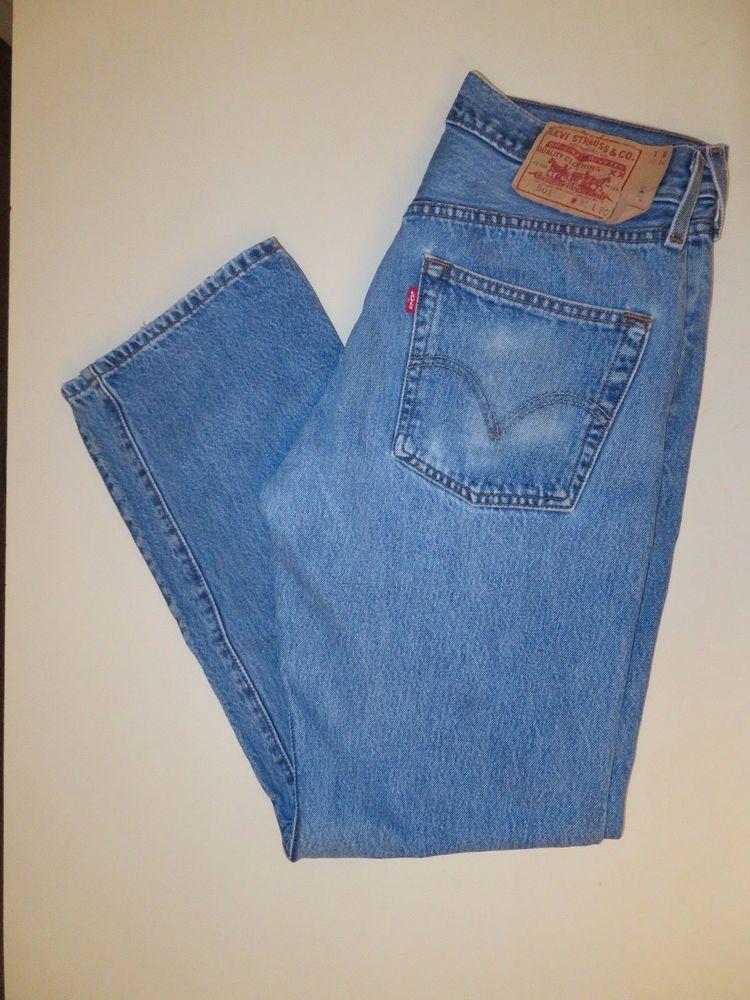 9f40d68f Men's Levis 501 Button Fly Jeans size 31 X 30 #957 #Levis #ClassicBootCut