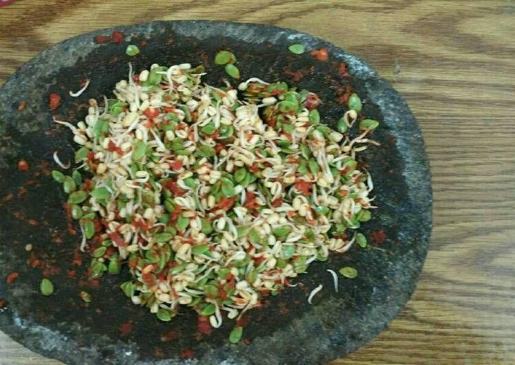 Resep Sambel Pete Cina Resep Mertua Oleh Christine Liao Resep Resep Makanan Cina Resep Masakan Indonesia Memasak