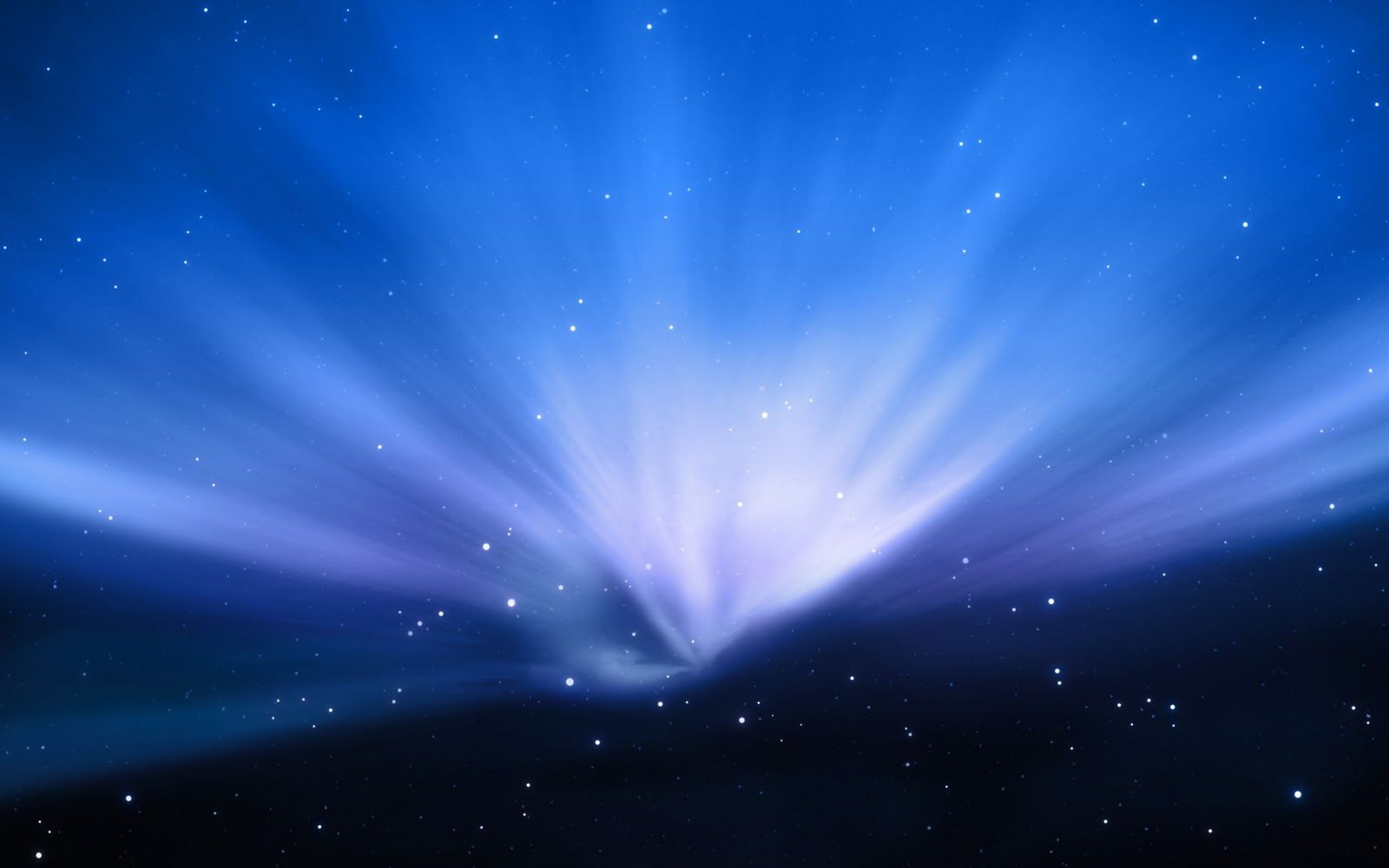 Real Dark Shades Of Blue Blauwe Arora Achtergrond Beautiful Blue