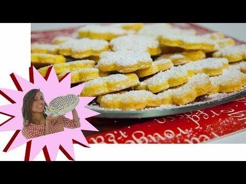 Biscotti da Tè - Pasticcini di Frolla Montata Ricetta Facile - Tea Biscuits Easy Recipe - YouTube