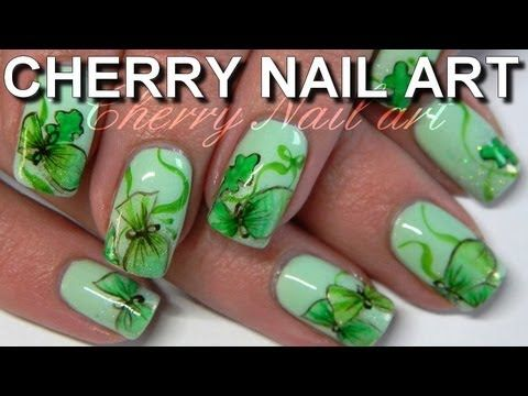 Nail Art Aquarelle Tuto Bonbons Nail Art Aquarelle Nail Art