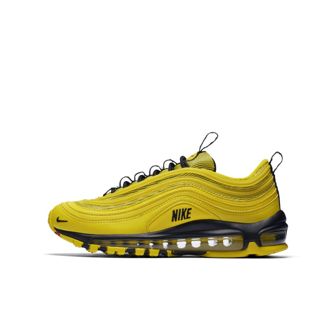 differently a5e79 79173 Nike Air Max 97 Big Kids  Shoe Size 7Y (Bright Citron)