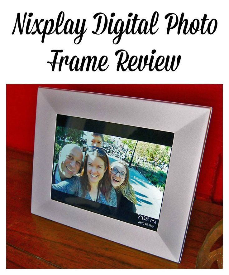 The Nixplay Digital Photo Frame Is So Good Looking Thin And Light