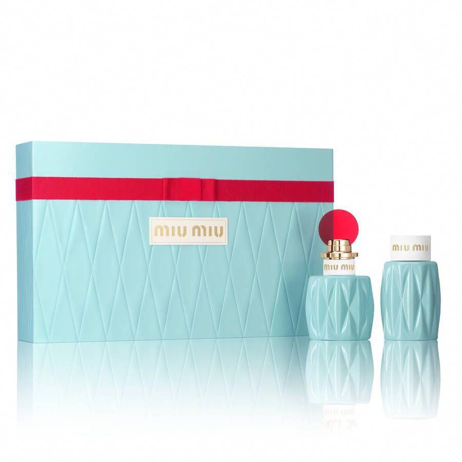 Coffret parfum eau de parfum miu miu miumiu miu miu