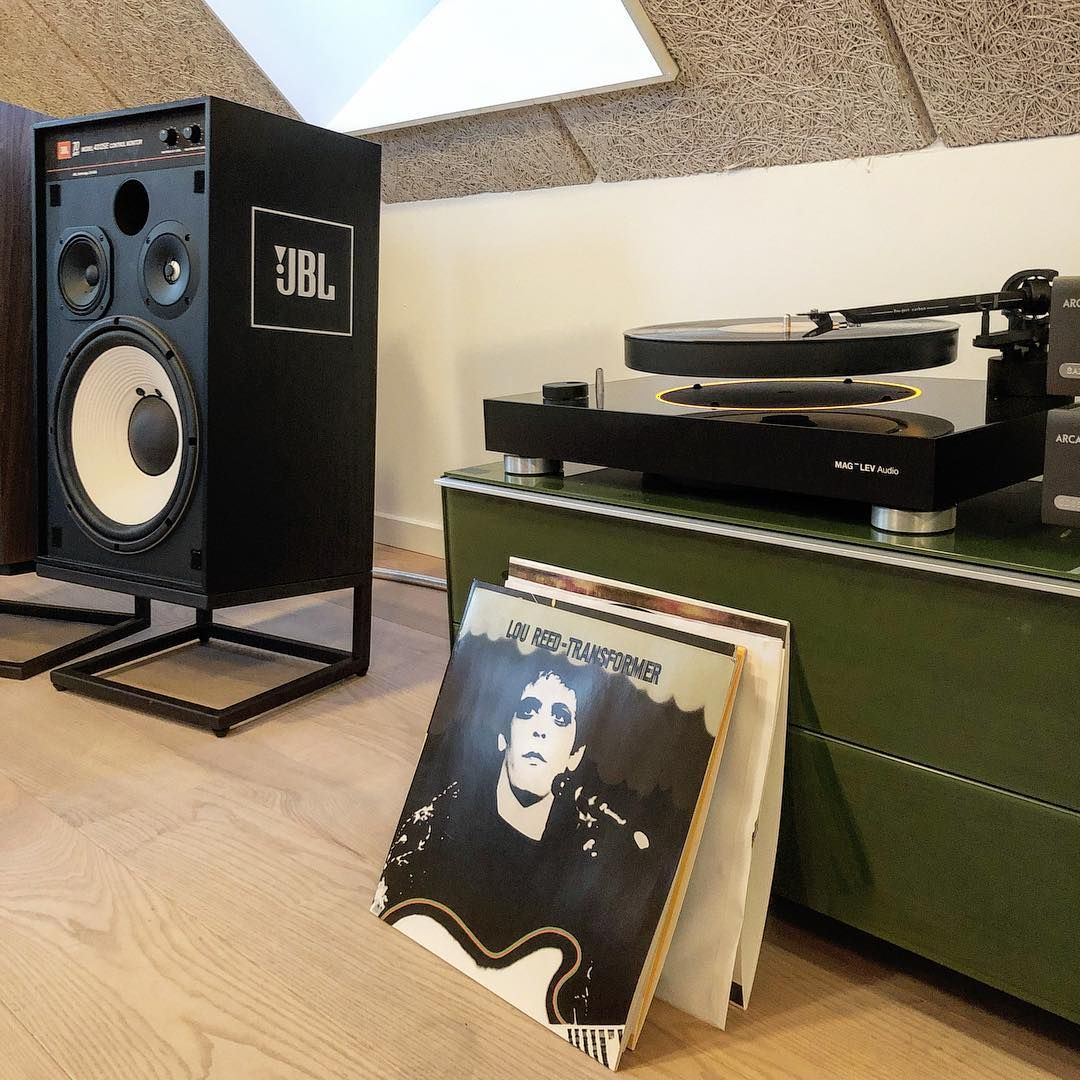 Olle On Instagram Levitating Turntable And Classic Jbl