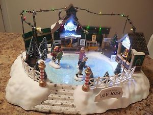 Christmas Village Ice Skating Rink.Pixpri Goatskin Leather Gardening Gloves Comfort Fit 3d Mesh