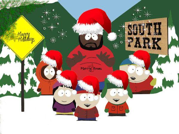 South Park Christmas.Pin By Sixta Mendoza On South Park Merry Christmas Card