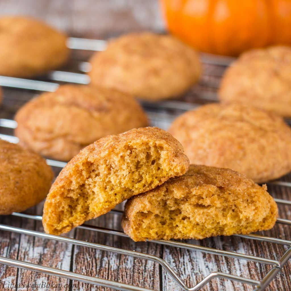 Pumpkin Spice Cookies (video)