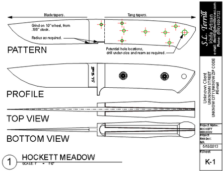 Knife Designs Knife Patterns Knife Making Knife Drawing