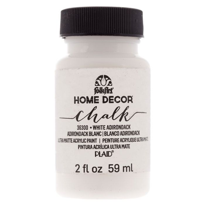 White Adirondack FolkArt Home Decor Chalk Paint | My Living/Dining