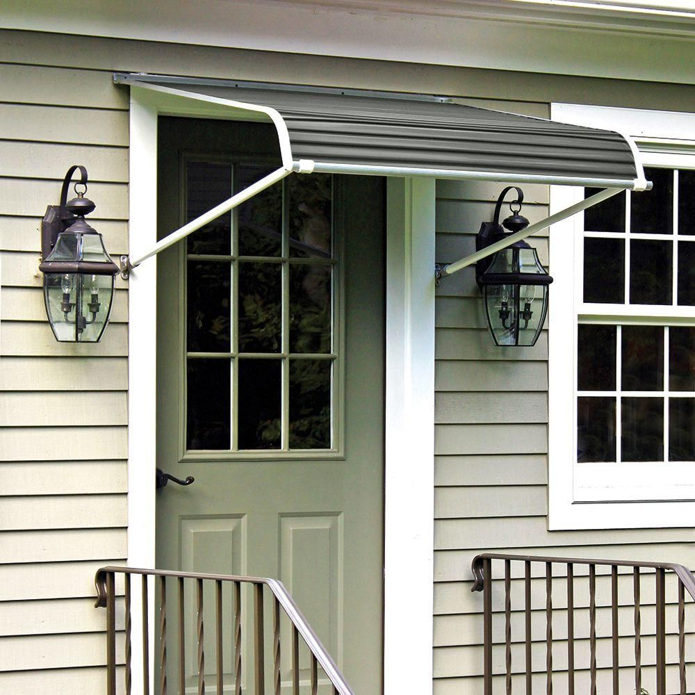Nuimage awnings ft series door canopy aluminum awning in