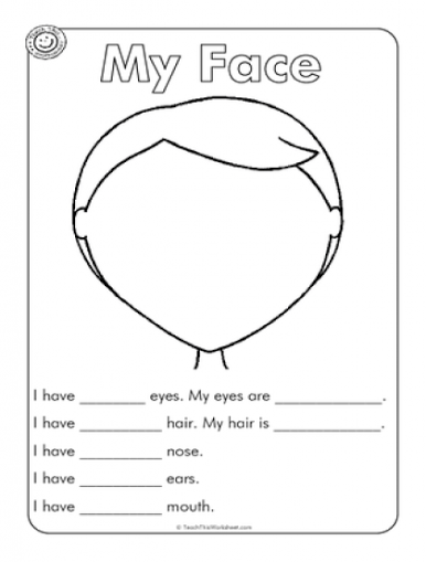 ESL Worksheets | ESL Body Parts | Pinterest | Worksheets, English ...