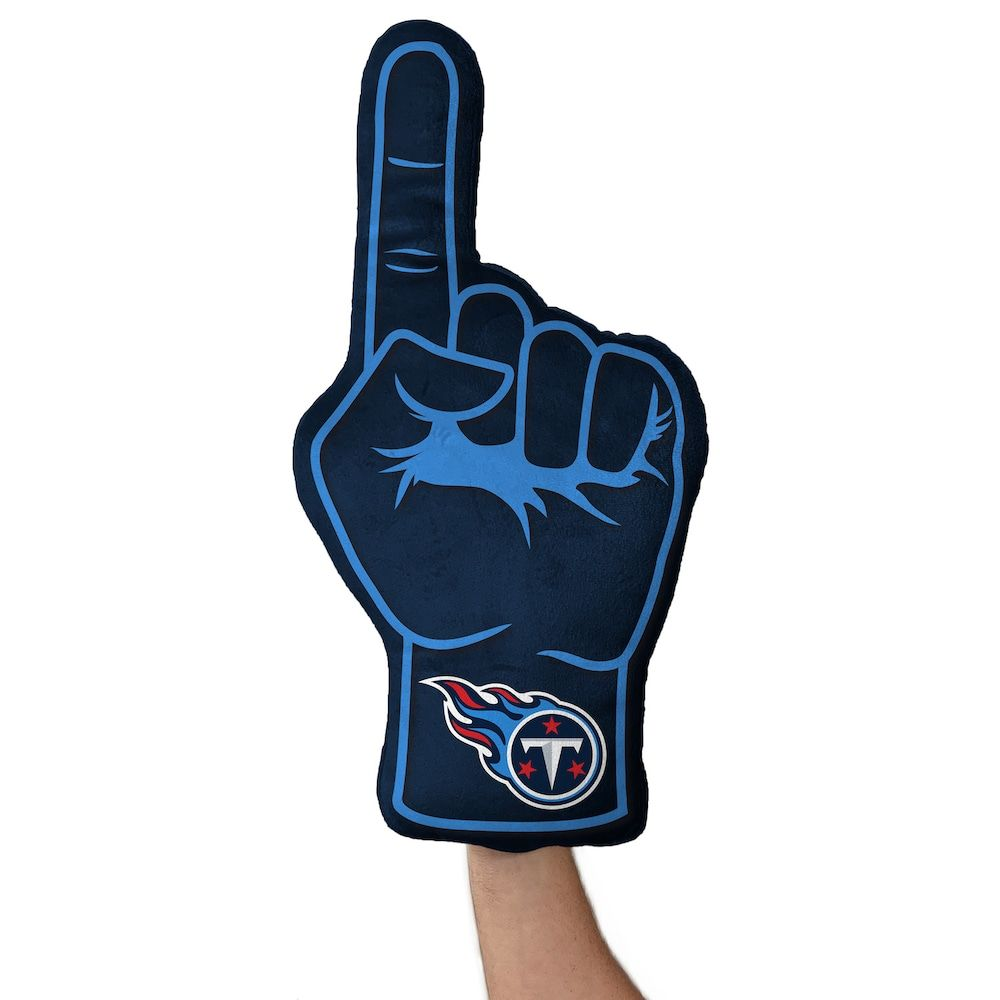 Tennessee Titans Foam Finger Pillow In 2020 Tennessee Titans
