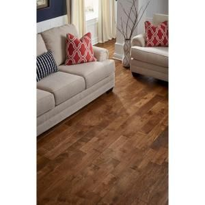 1d16bdfcae4 Nuvelle French Oak Cognac 5 8 in. Thick x 4-3 4 in. Wide x Varying Length  Click Solid Hardwood Flooring (15.5 sq. ft.   case) NV2SL at The Home Depot  - ...