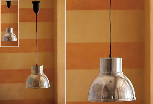 I Love A Retractable Ceiling Light The Cord Adjusts From 20 To 57 And Lamp Takes Up 40w Bulb