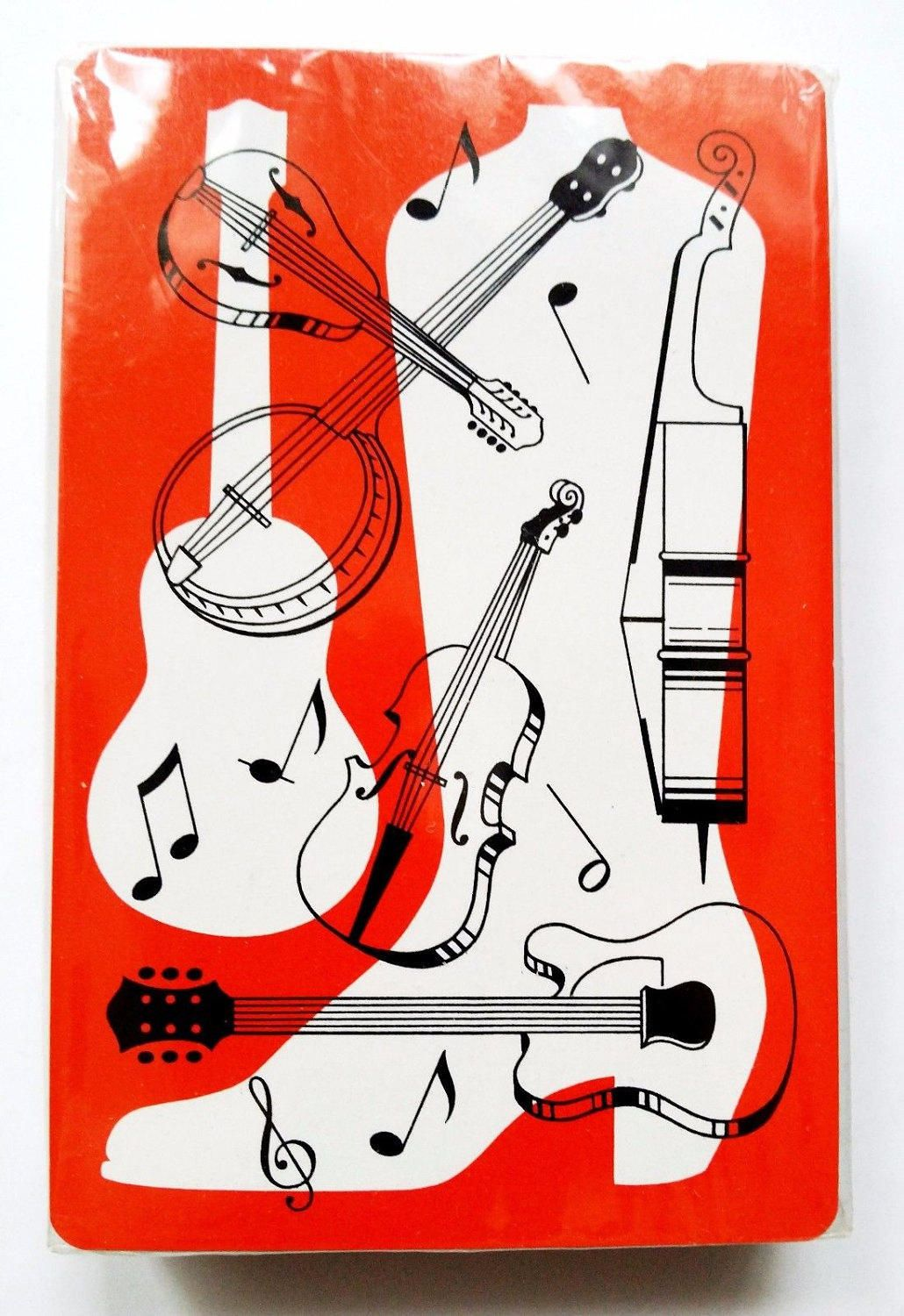 Country music playing cards deck heather enterprises