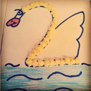 number craft ideas for preschoolers number 2 swan craft 2 swan craft idea 6971