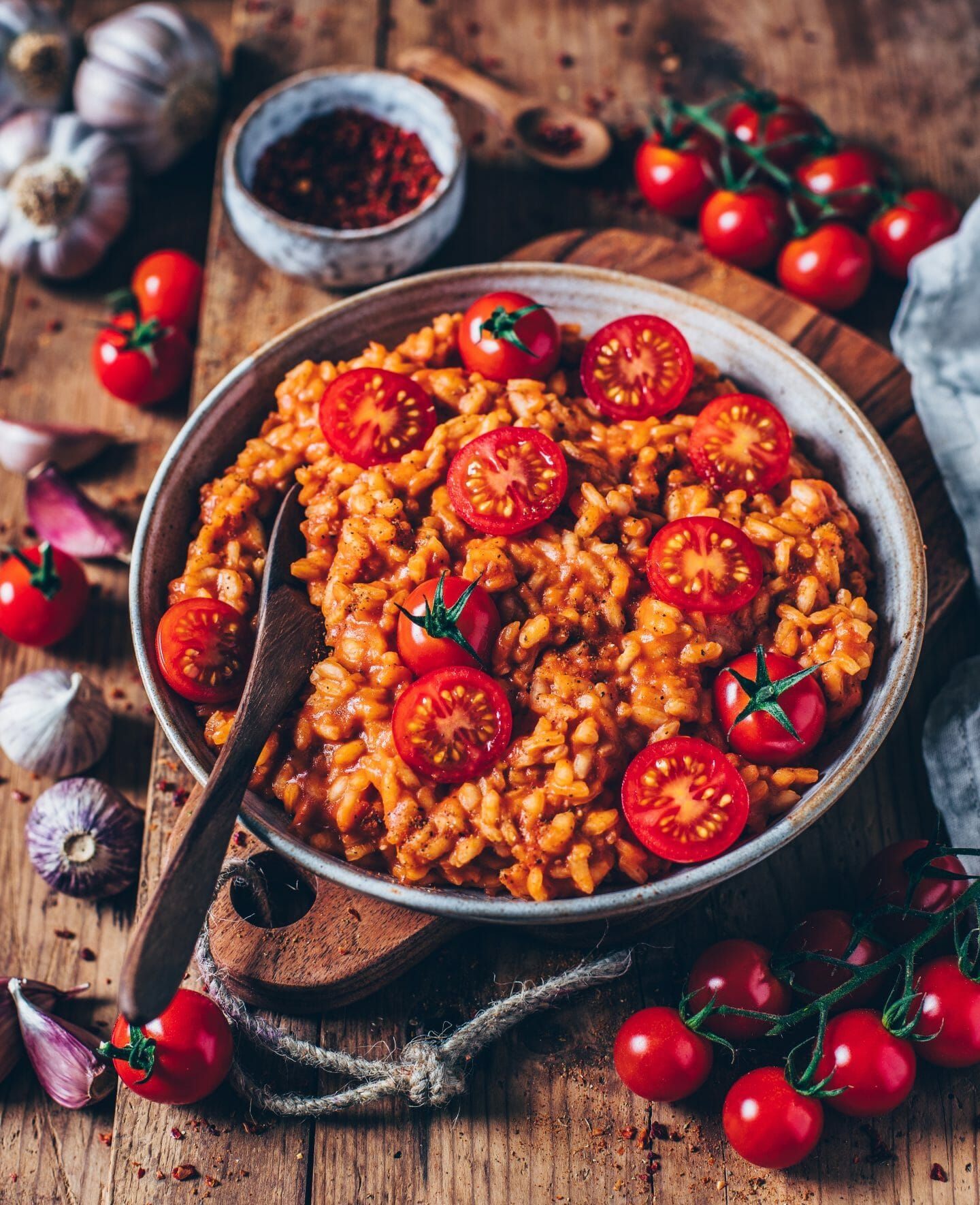 Cremiges veganes Tomaten-Risotto - Bianca Zapatka | Rezepte
