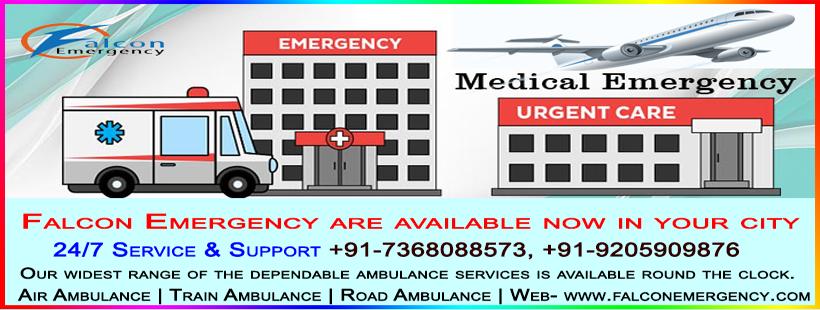 Falcon Emergency Train Ambulance Service is providing you