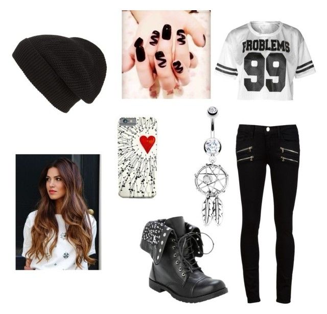 """""""Untitled #85"""" by tristen-elmer on Polyvore featuring Paige Denim, Bling Jewelry and Phase 3"""