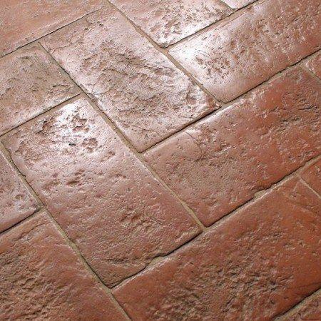 Terracotta Fliese Florenz Fliesen Kuchenfliesen Boden