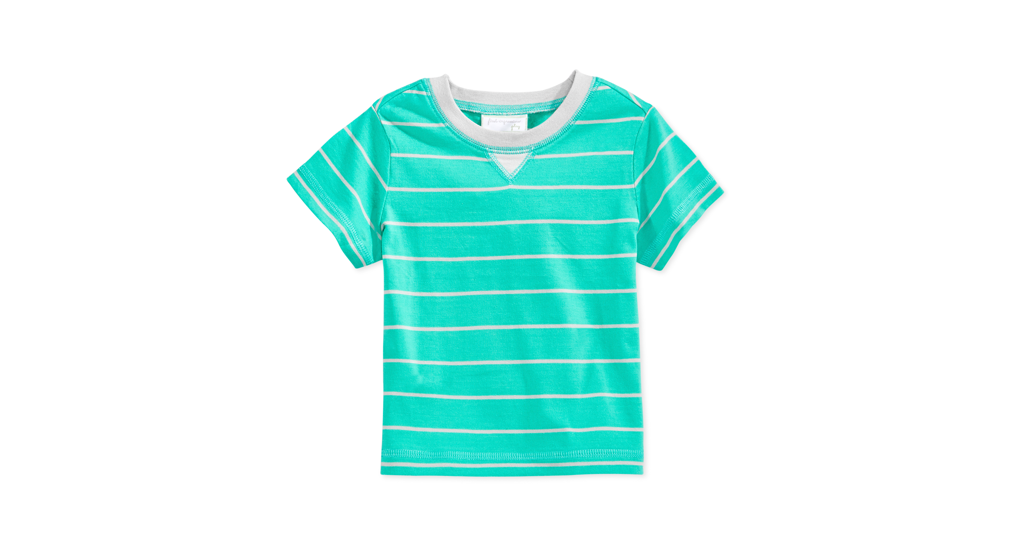 First Impressions Play Baby Boys' Striped Tee