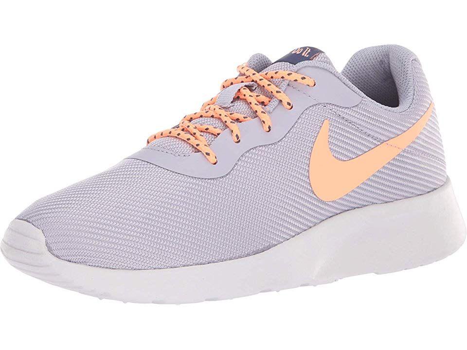 buy online 854d0 63273 Nike Tanjun SE Women s Running Shoes Provence Purple Orange Pulse