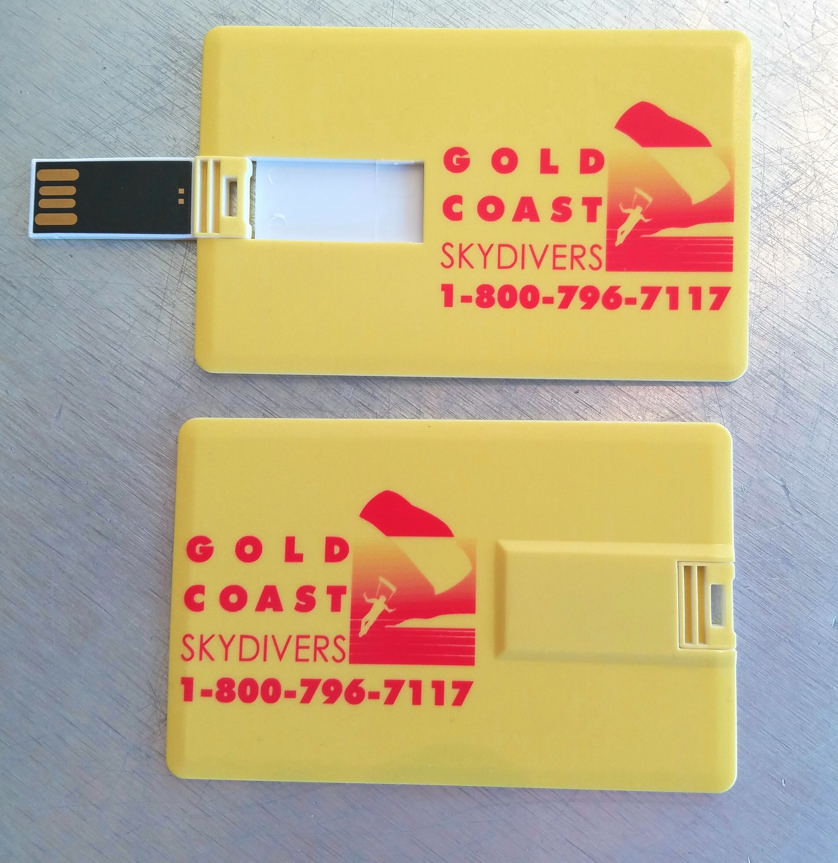 Gold Coast Business Card Style Usb Flash Drives Look Great New Website Coming Very Soon Http Yourmemorystix Com Utm Content Buffer Custom Usb Usb Custom