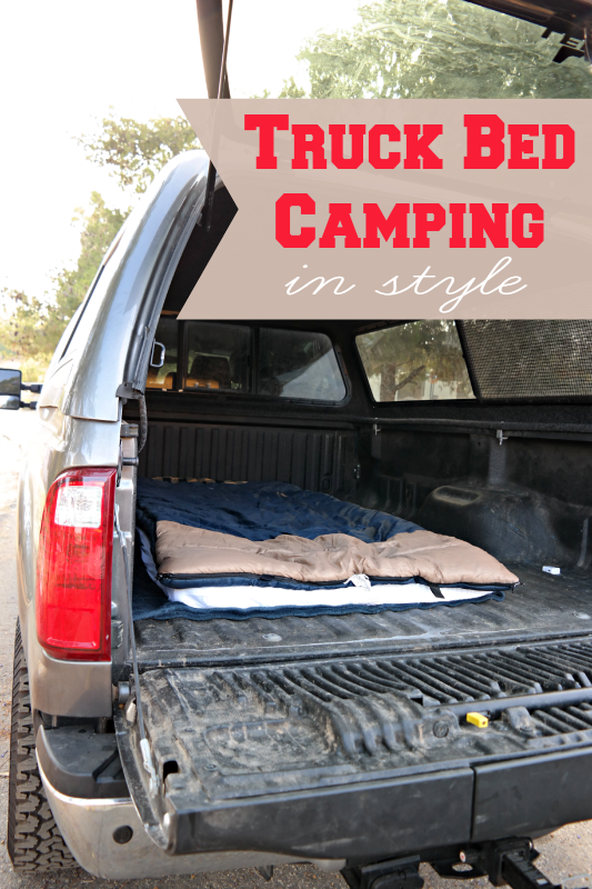 Truck Bed Camping in Style Truck bed camping, Truck bed