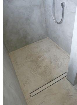 Dusche In Betonoptik Beton Dusche Badezimmer Dekor Dusche