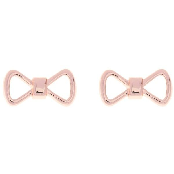 Bow Sterling Silver Stud Earrings Ted Baker Zqfsl0