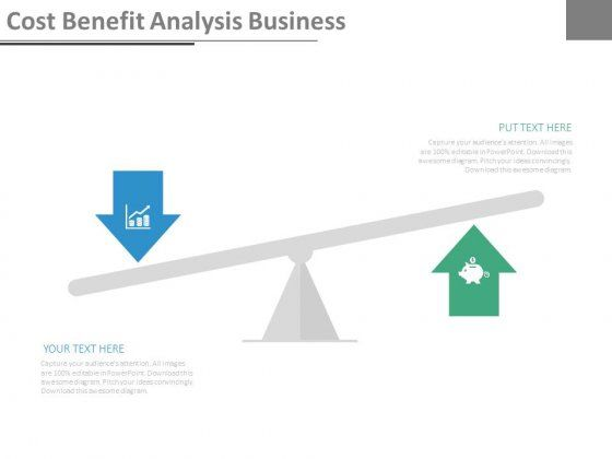 Cost Benefit Analysis Business Ppt Slides 디자인