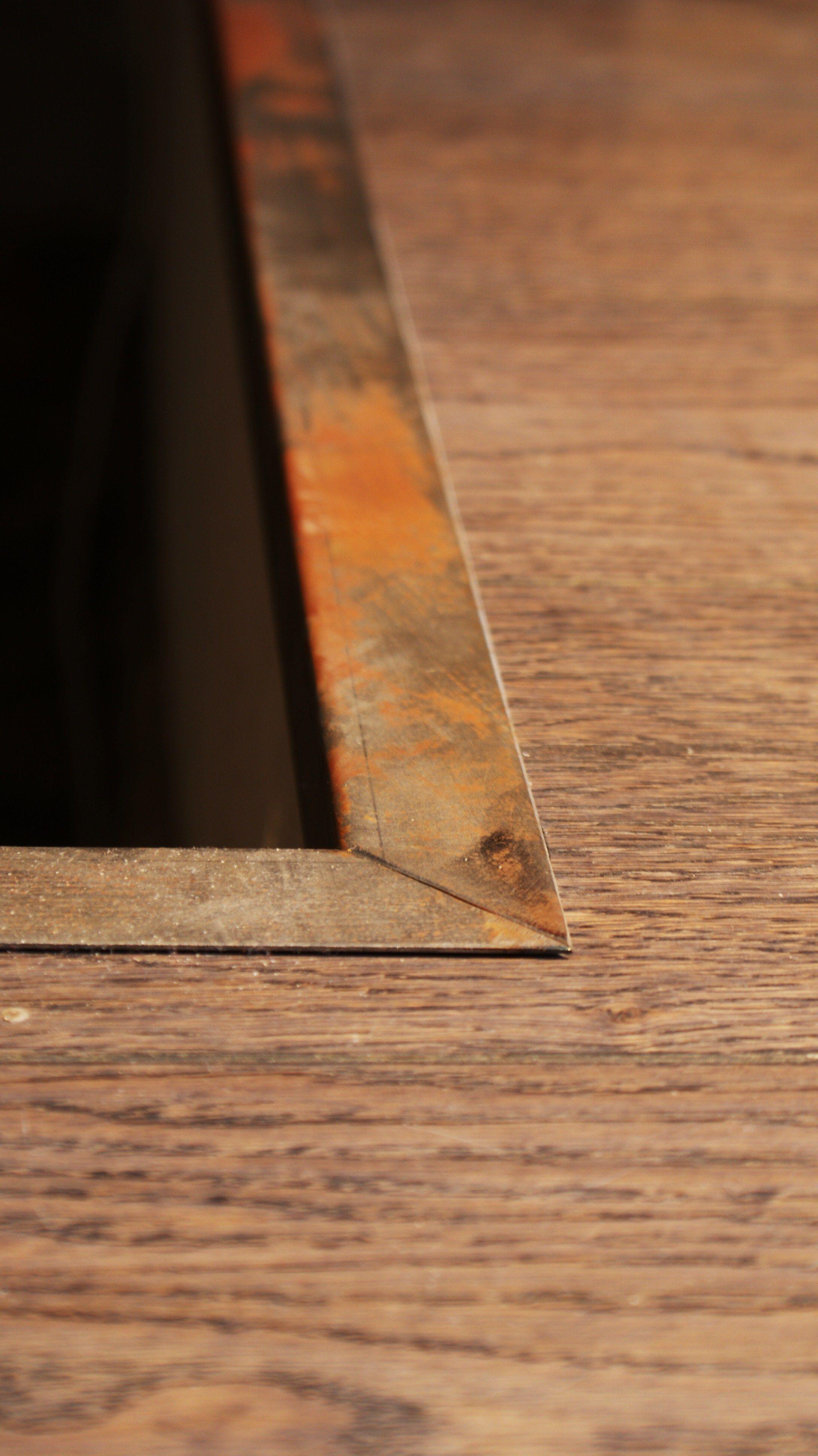 Barre De Seuil En Metal Brut Barre Seuil Metal Rouille Recherche Maison Metal Mobilier De Salon