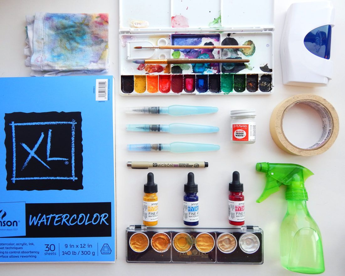 Best Watercolor Supplies Watercolor Materials For Beginners