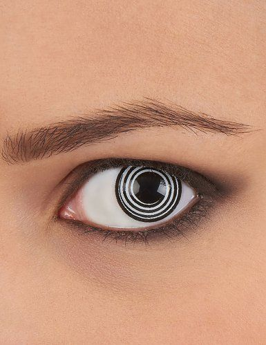 efbcfda49a Lentes de contacto fantasía espiral negro y blanco | Lentes | Lentes ...