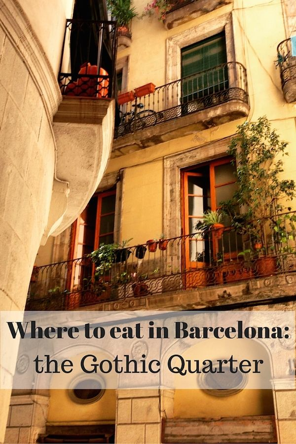 Don't Get Stuck In A Tourist Trap In Barcelona's Gothic Quarter! Check Out Some Of Our Favorite Places To Eat. #favoriteplaces