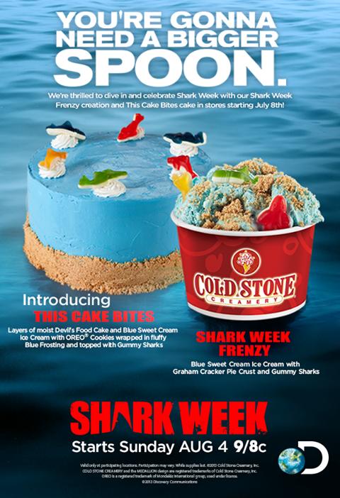 Cold Stone Creamery Shark Ice Cream Google Search Cold Stone Creamery Shark Week Recipes Shark Week